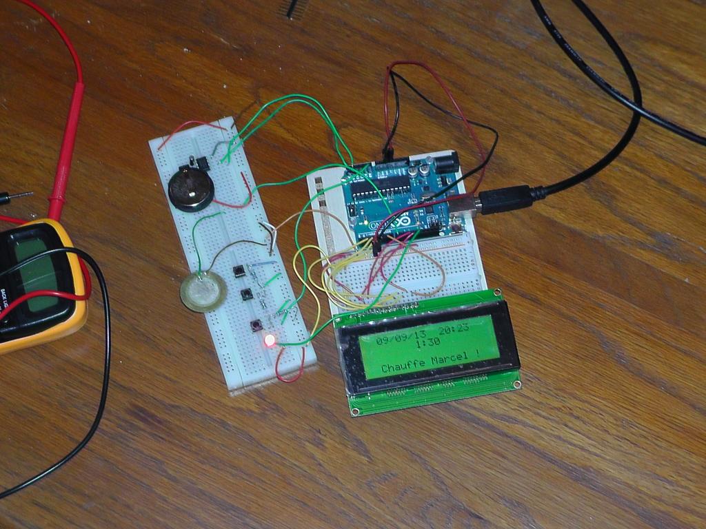 Prototype du programmateur