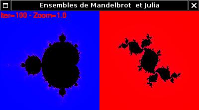 Mandelbrot et Julia
